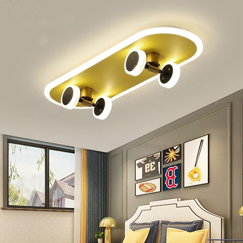 Luces De Techo LED con Control remoto para habitación De niños, lámparas...