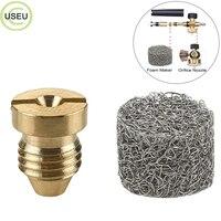 USEU 1.1 mm Foam Cannon Replacement Orifice Nozzle FOR Pressure Washer Snow Foam Generator Universal Thread Tips for Snow Foam Lanc