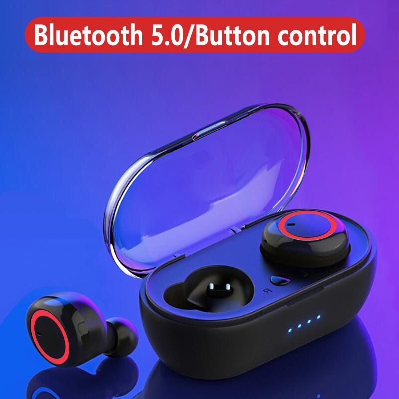 A2 TWS Wireless 5.0 Bluetooth Earphone HiFi Stereo Bluetooth Headset Gamer Sport Earphone with Charg