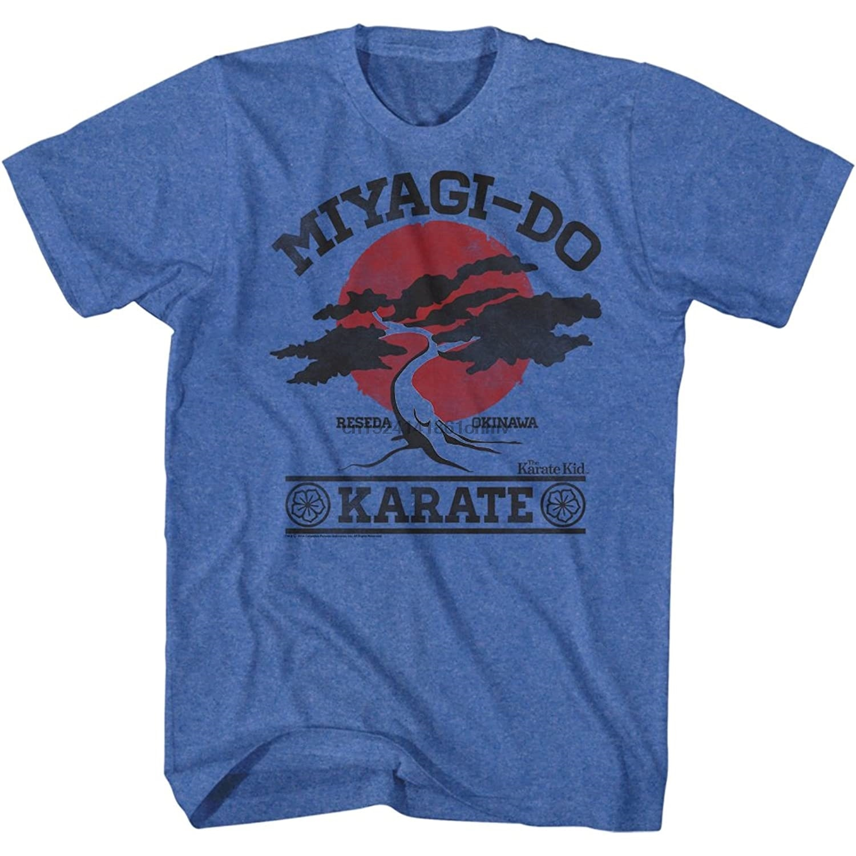 Karate Kid 1980s Martial Arts Movie Miyagi Do It Again Vintage Adult T-Shirt Tee(2)