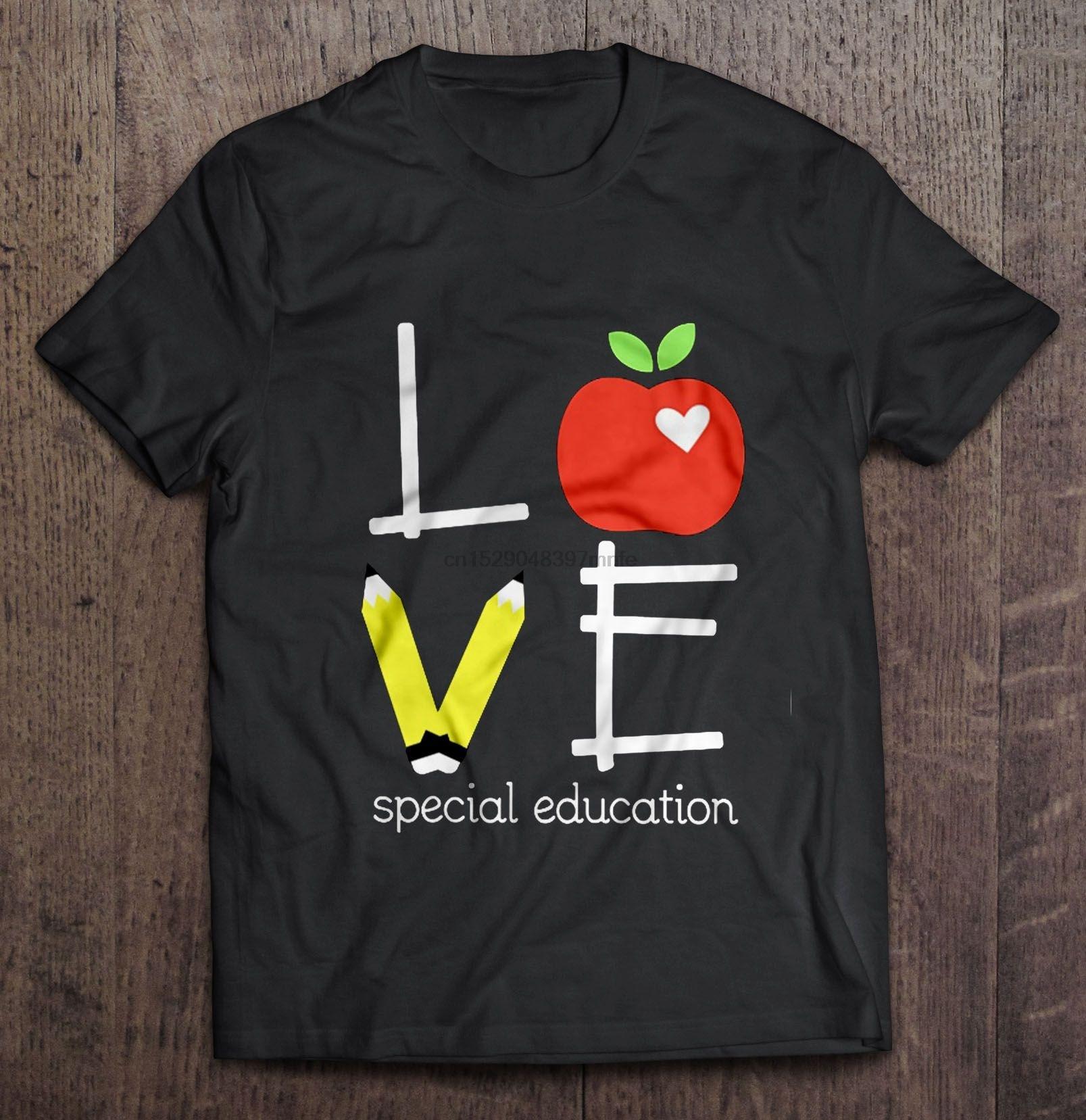 Camiseta para hombre amor educación especial-Teacher camiseta para mujer