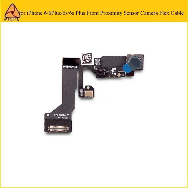 10 Pçs/lote para i Phone 6 6s Plus 6P 6SP 6G Frente Pequeno Enfrentando Câmera de Montagem do Sensor de Luz Proximidade Cabo Flexível