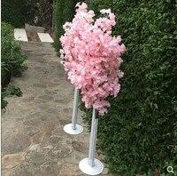 cherry blossom road lead iron art shelf wedding props road lead simulation cherry tree cherry blossom road lead wedding