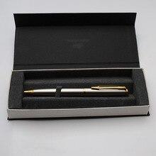Металлическая шариковая ручка Baoer stylo cristal, роскошный офисный подарок, шариковые ручки для письма, синие Сменные boligrafos divertidos boligrafo lotes