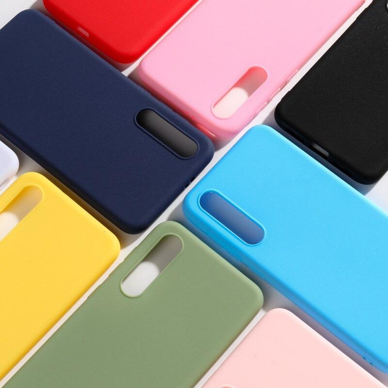 Funda para Xiaomi mi 9 Se mi 9Se funda para teléfono Color caramelo funda trasera de silicona suave para Xiaomi mi 9 funda Se mi 9 Se
