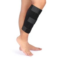 calf shin compression brace splint sleeve support lower leg wrap guard for pulled calf muscle pain torn calf strain injury