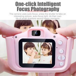 Image 4 - Миниатюрная детская камера 20MP X5S, 2,0 дюйма, IPS экран, HD 1080P, цифровая фотокамера для детей, игрушка с литиевой батареей 600 мАч, подарок на день рождения