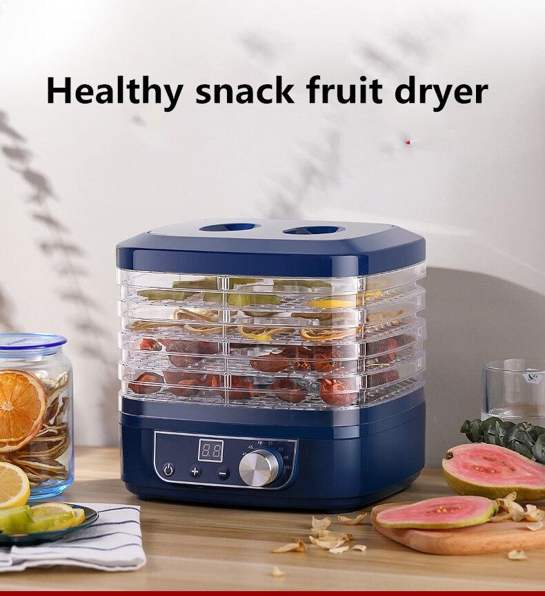 Fruit dryer food dryer fruit vegetables pet meat food air dryer small household