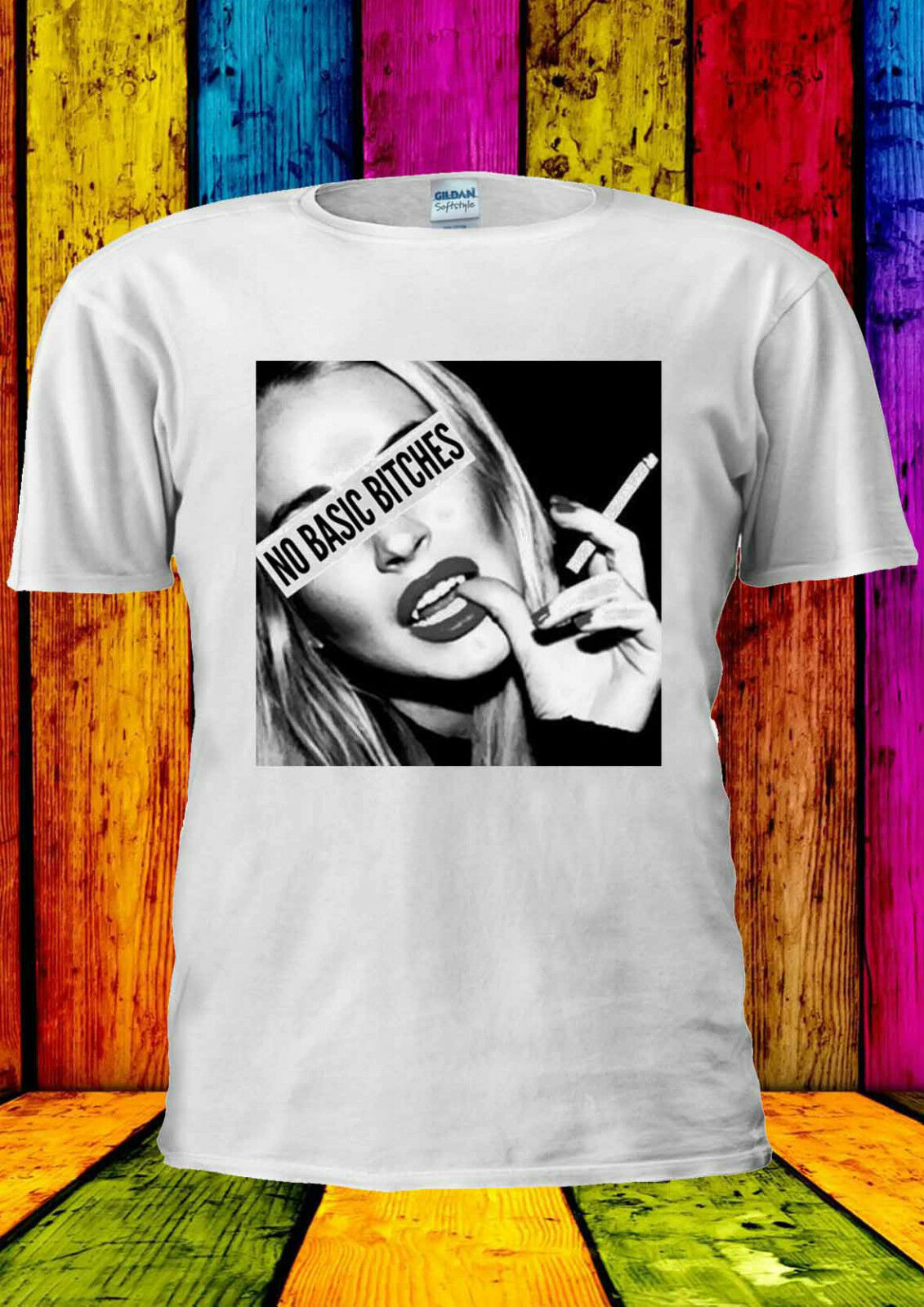 No básico B * Tches Smoking camiseta de Instagram chaleco camiseta sin mangas hombres mujeres Unisex 1706 tamaño Unisex S-3Xl