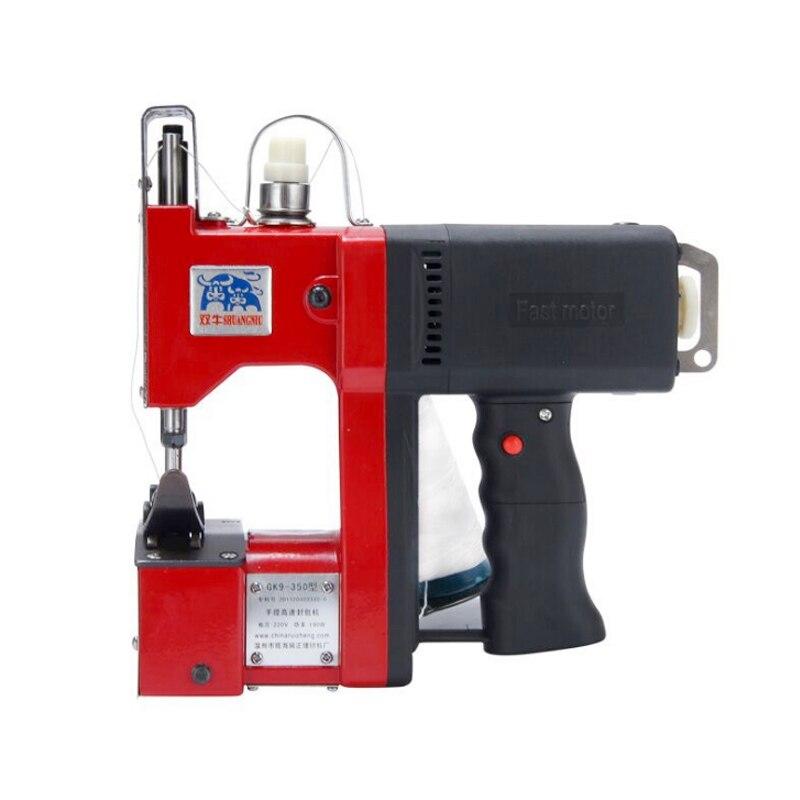 GK9 350 портативное запечатывающее устройство 190 Вт электрическая швейная машина