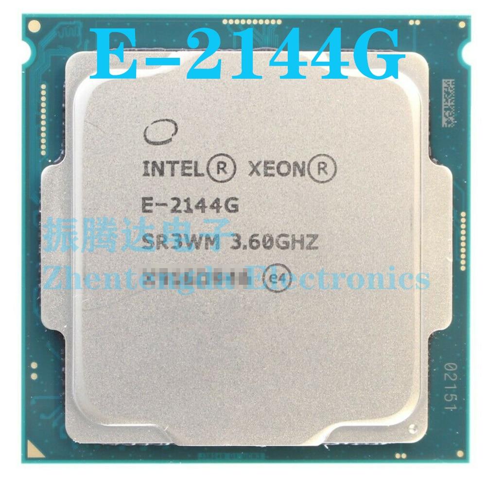 Intel Xeon E-2144G CPU 3.6GHz 8MB 4 Core 8 Thread LGA 1151 E-2144G CPU Processor