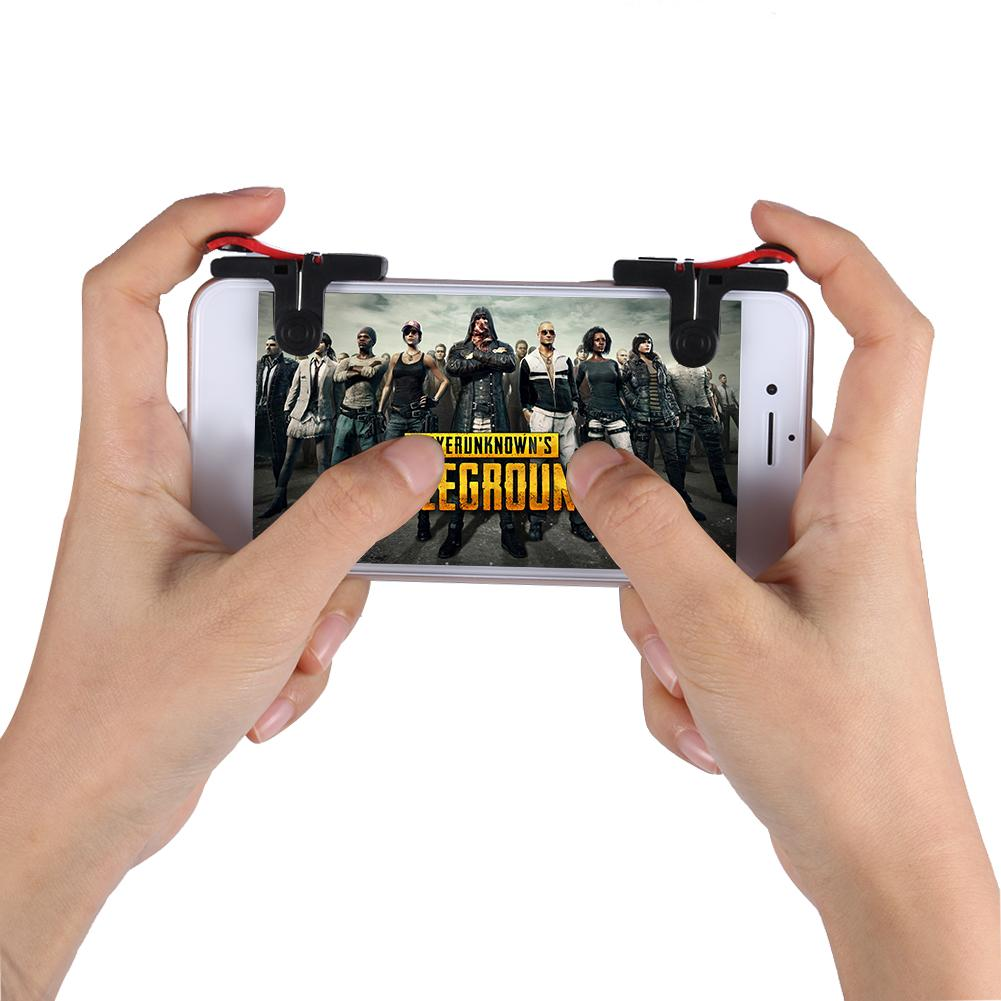 D9 Mobile Game Gamepad Trigger Joysticks Shooting Game Fire Button Controller for PUBG