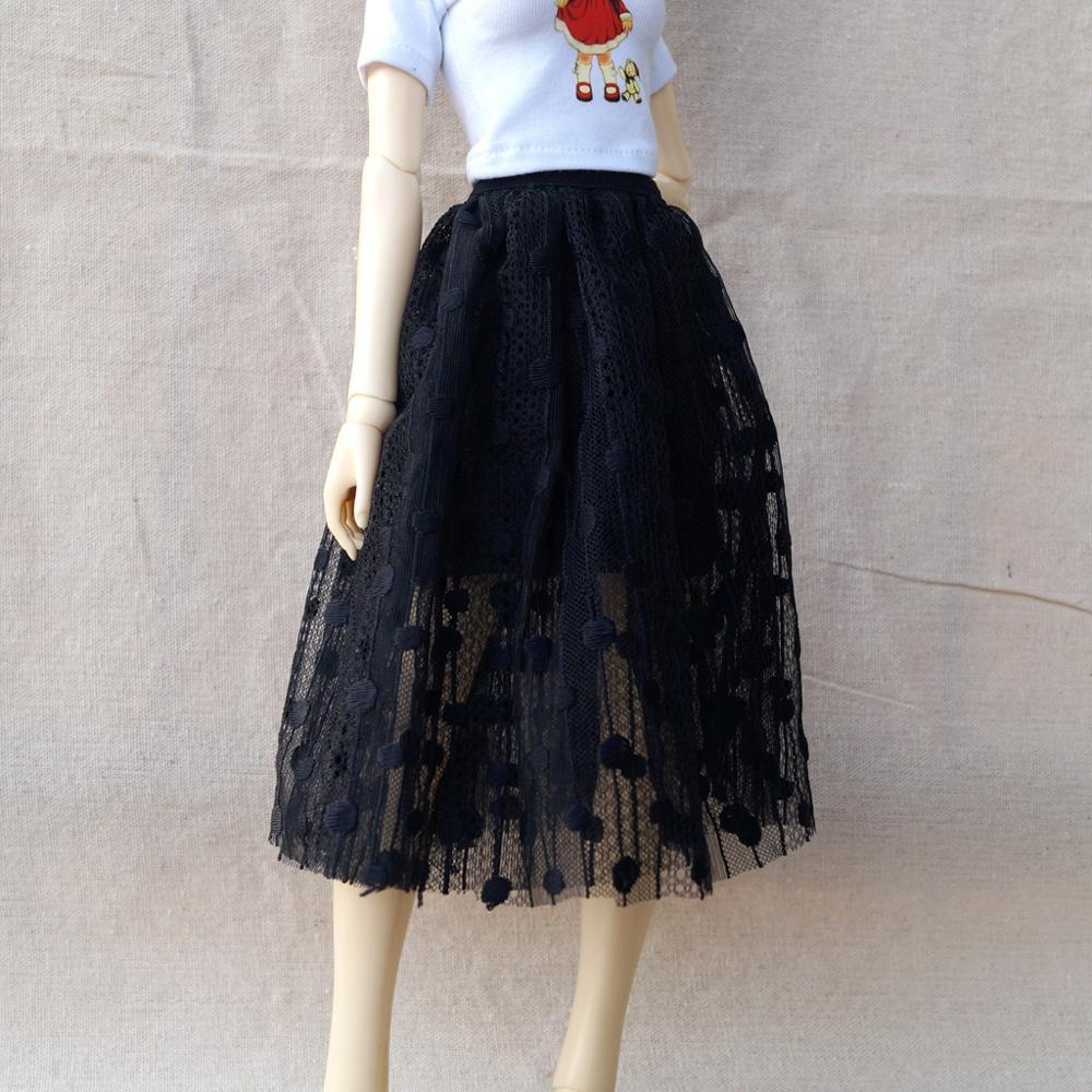 """BJD PUPPE Kleid Rock Outfits Kleidung Für 1/4 17 """"1/3 24"""" Hoch Weibliche BJD puppe MSD SD13 DK DZ AOD DD Puppe Tragen"""