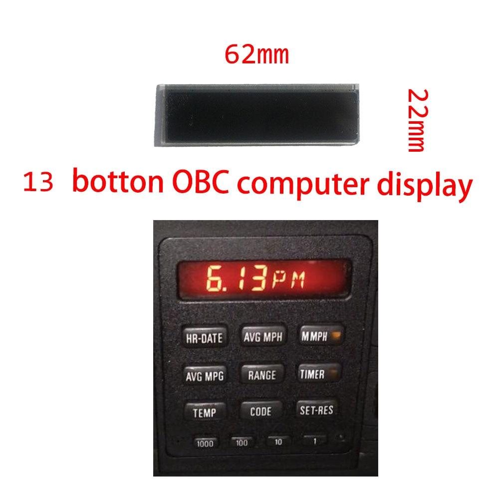 Car LCD Repair Display for BMW E28 E30 13 Button OBC Bordcomputer BC1 OBC2 computer screen  325i 325e 325is 325ic 528e 535i