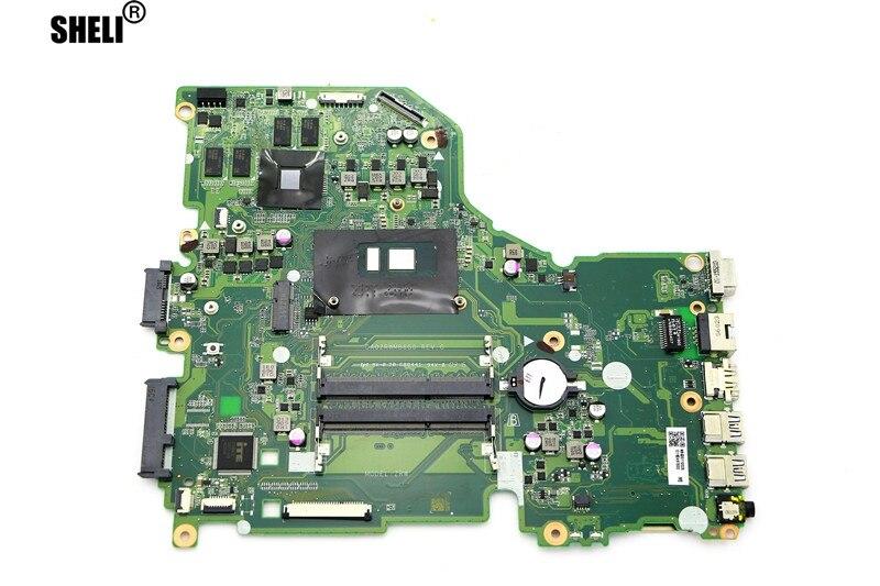 HoTecHon حقيقية DA0ZRWMB6G0 اللوحة ث/i7-6500U 2.5G وحدة المعالجة المركزية و 940m 4G GPU - NB.G3011.002 لشركة أيسر كما F5-572G