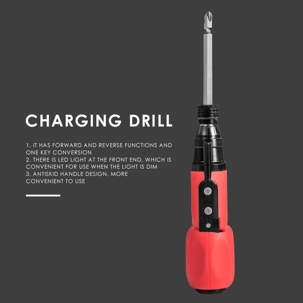 3,6 V Praktische Mini Wireless Power Fahrer Multi-funktionale Bequem Magnetic Charging Bohrer Elektrische Schraubendreher