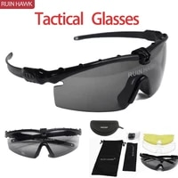 tactical glasses miltary goggles army uv400 protection sunglasses for men sport sunglasses paintball shooting goggle eyewear