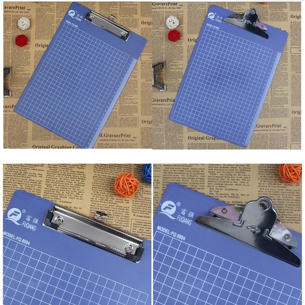 1 pieza A4/A5/A6 Portapapeles de escritura, Clip de plástico para archivos de oficina, accesorios, portapapeles, Clip de Metal, papelería de oficina, mariposa, Escuela Q7R1