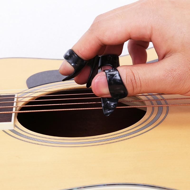Подставки для гитары на указательный палец защитные пальцы подставки под гитару Акустическая гитара электрическая гитара бас универсальн...