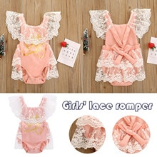Kids Baby Girl Clothes Set Toddler Baby One-piece Printed Baby Girl Summer Style Romper Bag Fart Clo