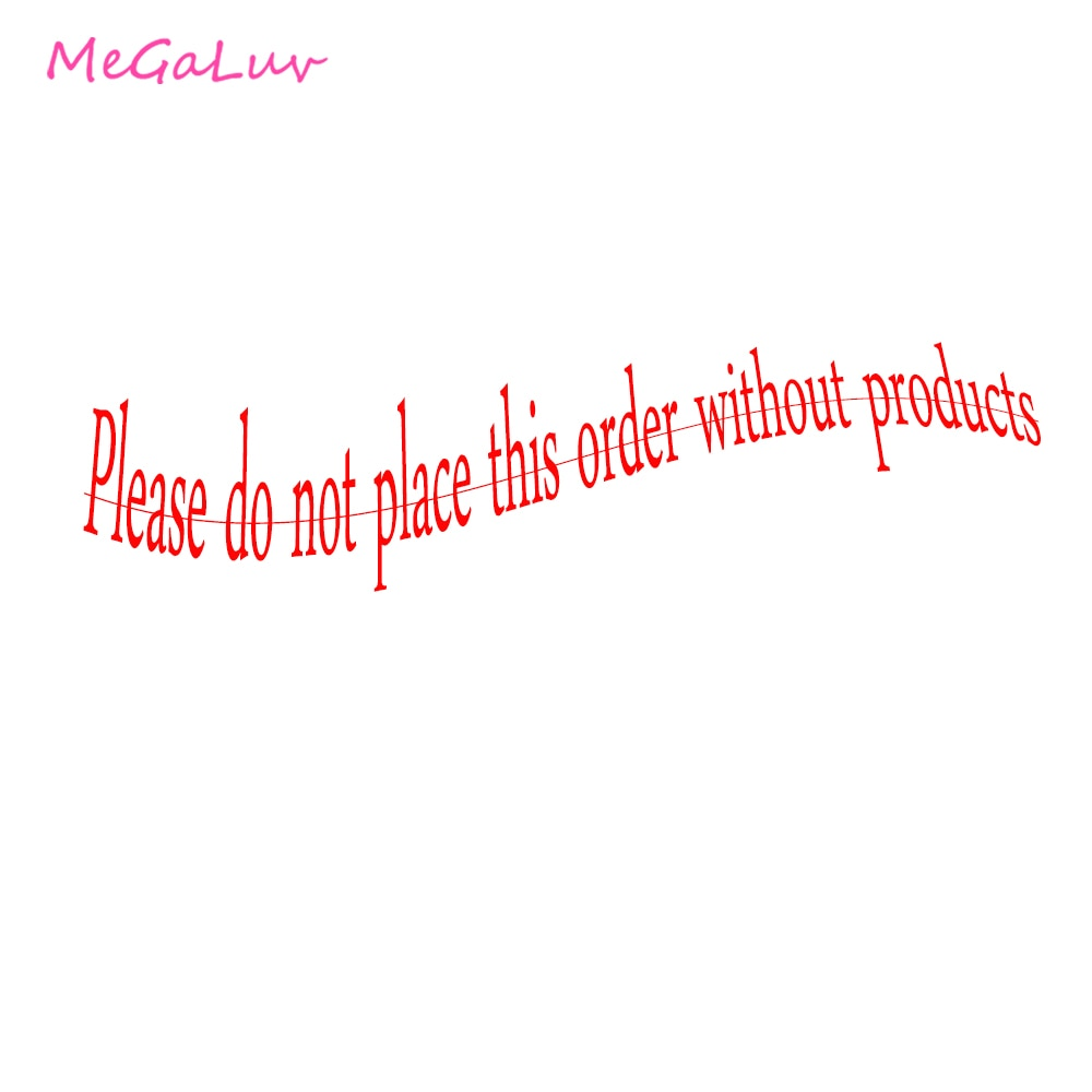 Please do not place this order without products kay david not without cause