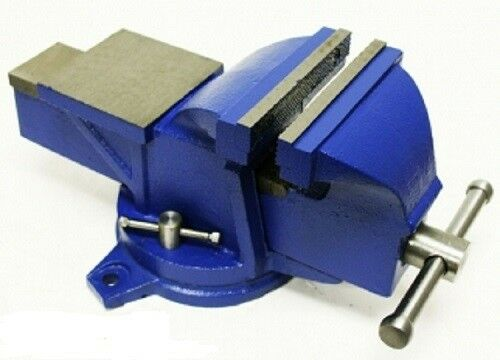 Bench Vise w/ Anvil Swivel 4in Locking Base Tabletop Clamp Heavy Duty Steel NEW