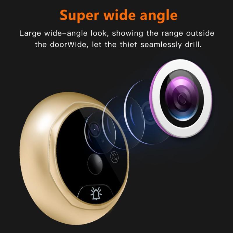 Video Eye Video Doorbell 4.3 Inch Door Peephole Camera LCD Digital Electronic Door Viewer Night Vision Support Motion Detection enlarge