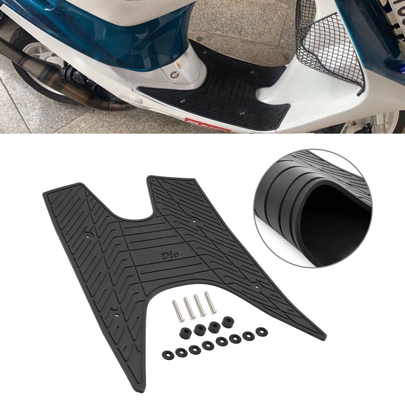 مسند القدم منصات لهوندا ديو 50 AF17 AF18 AF25 ديو 50 DIO18 دراجة نارية قدم وسادة منصات الرعاية النعال وسادة الدواسة نعل