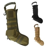 tactical molle christmas socks bags military bag accessories storage bag hunting pouch outdoor boots christmas socks gift bags