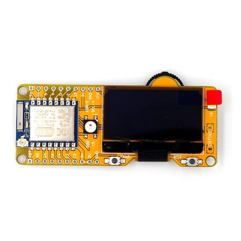 "DSTIKE WiFi Deauther OLED MiNi ESP8266 Placa de desarrollo WIFI pantalla OLED superior HQ Esp8266 con 1,3 ""oled Placa de desarrollo caliente"