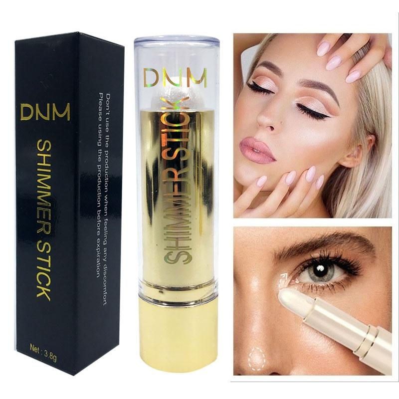 3D resaltador Stick maquillaje profesional contorno facial brillo maquillaje iluminador bronceador corrector y base lápiz Maquiagem TSLM2