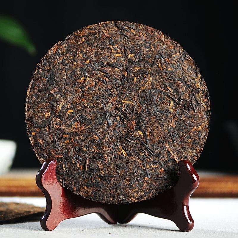 Юньнань Пуэр чай спелый чай торт 100 г семь семян Летающий торт чай 2012 спелый чай торт