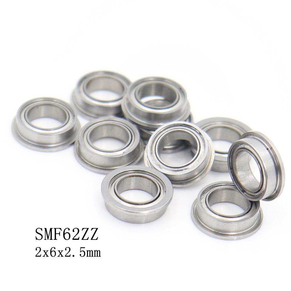 SMF62ZZ تحمل ABEC-1 5 قطعة 2*6*2.5 ملم مصغرة الفولاذ المقاوم للصدأ الكرات S LF620ZZ MF62 SMF62 ZZ