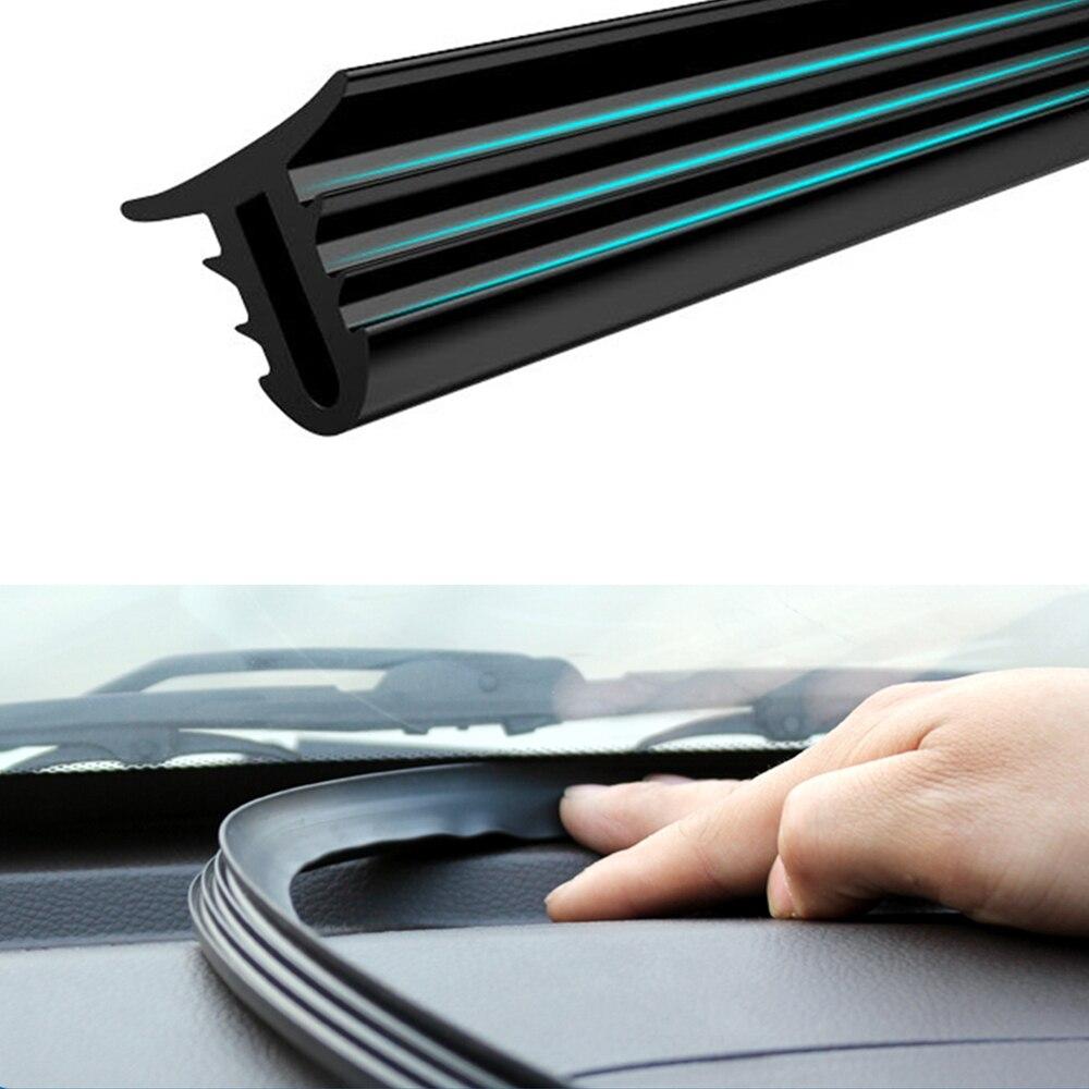 160 см универсальный герметик для лобового стекла автомобиля Звукоизоляционная резиновая уплотнительная полоса автомобильные резиновые уп...