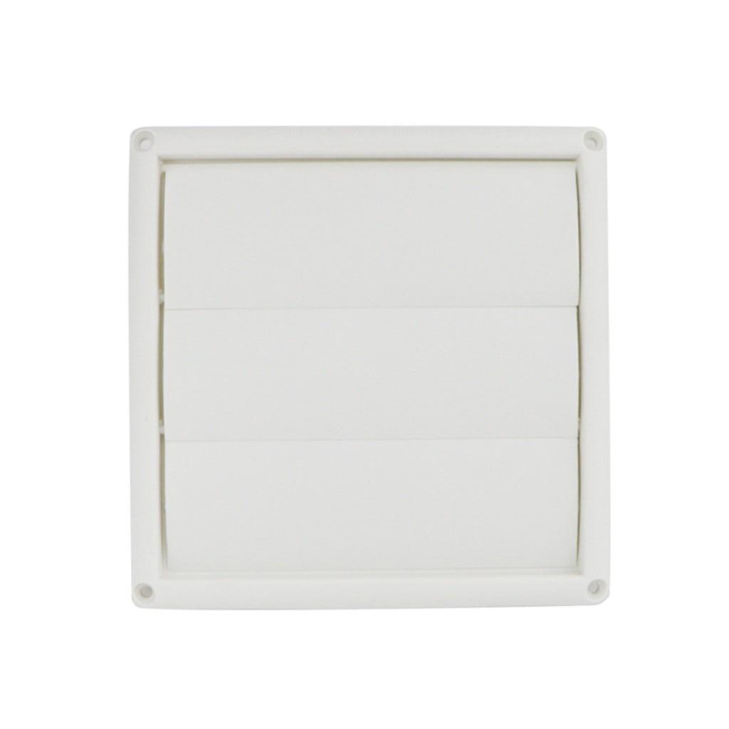 Решетка для вентиляции вентиляционного отверстия, пластиковые белые настенные решетки, для воздуховодов, с подвижной страницей, для выхлоп...