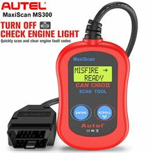 Autel MaxiScan MS300 OBD2 сканер диагностический сканер Ferramentas Automotivas Para Carros