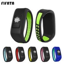 FIFATA Silicone Bracelet Wriststrap For Garmin Vivofit 3/Vivofit JR/JR 2 Kids Watch Band Sports Colo