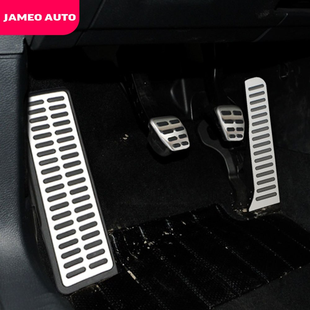 Чехол для авто педалей для VW Golf 5 6 GTI Jetta MK5 CC Passat B6 B7 Tiguan Touareg, аксессуары для Skoda Octavia