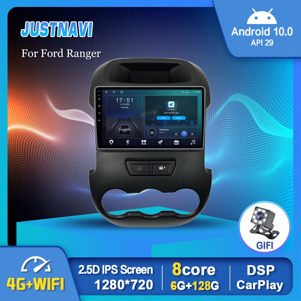Фото - 9 Newest Android 10.0 Smart Car Radio Video Player For Ford Ranger 2011- 2014 Auto Multimedia GPS Stereo Carplay 6G 128G No DVD 6g 128g android 10 0 smart car radio video player for nissan nv200 2011 2016 4g auto bt multimedia gps stereo dsp carplay no dvd