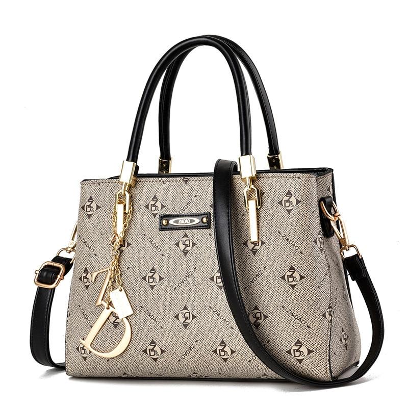 حقيبة يد فاخرة للنساء حقائب مصمم العلامة التجارية المرأة حقيبة جلدية حقيبة يد حقيبة كتف للنساء 2020 كيس الرئيسي السيدات حقائب اليد