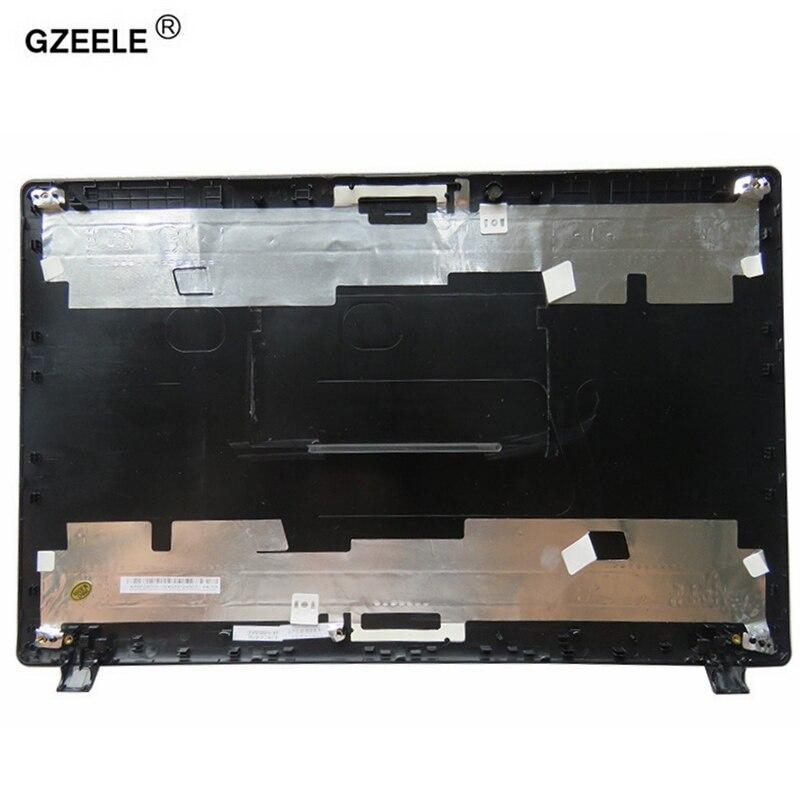 GZEELE غطاء شاشة LCD علوي جديد لشركة أيسر أسباير 5551 5551G 5251G 5251 5742G 5741Z 5741ZG غطاء شاشة LCD للكمبيوتر المحمول الغطاء الخلفي