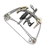 mini composite pulley bow and arrow new arrival 2 color compound bows archery bow fishing archery hunting bows outdoor