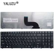 YALUZU Russian Laptop keyboard For Acer aspire E1-571 E1-571G E1 E1-521 E1-531 E1-531G TM8571 MP-09G33SU-698 PK130DQ2A04