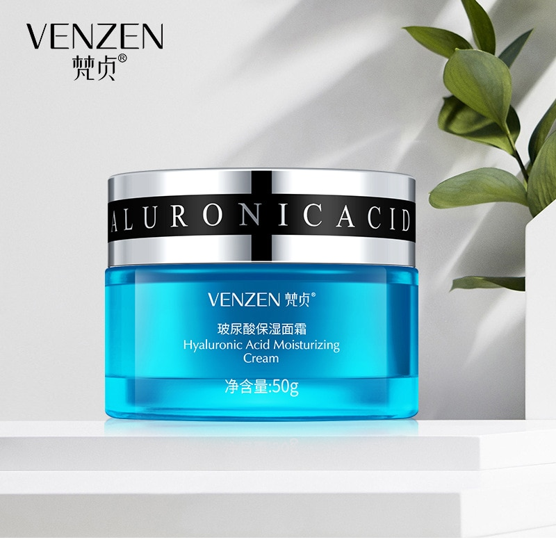 Hyaluronic Acid face cream Moisturizing face  serum Whitening Female facial cream moisturizer skin care day cream night beauty