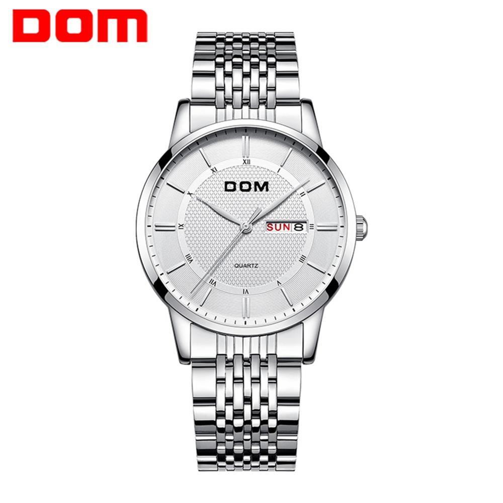 Relógios de Moda Masculina de Luxo da Marca Superior dos Homens Relógios de Pulso de Quartzo Novo Cinta Relógios Esportivos Relógio Masculino Dom