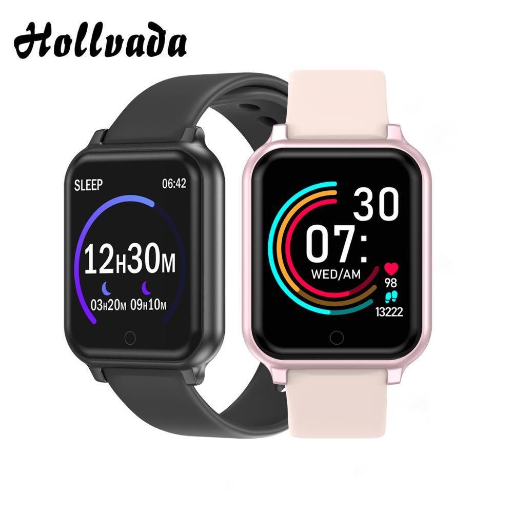 Смарт-часы Hollvada B58, водонепроницаемые, gps, трекер, кровяное давление, пульсометр, фитнес-трекер, смарт-часы для женщин и мужчин, B57