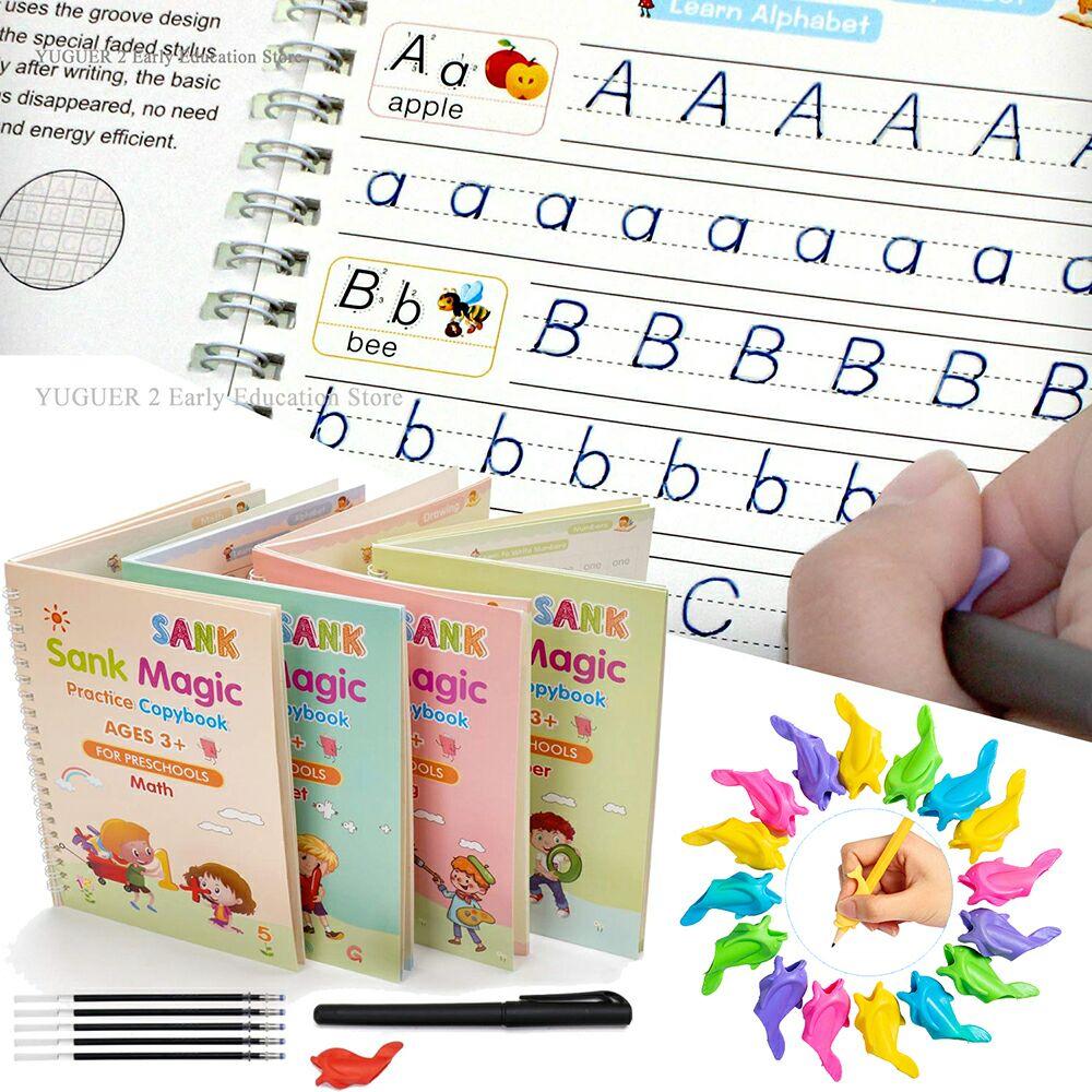 27-unids-set-se-hundio-magia-cuaderno-de-practica-para-copiar-gratis-los-ninos-libros-de-letra-reutilizable-por-escrito-de-pasta-para-la-caligrafia-de-montessori