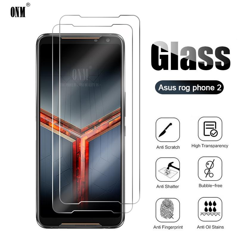 10Pcs Gehärtetem Glas Für Asus ROG Telefon II 2 Screen Protector Für Asus ROG Telefon 2 ZS660KL Schutz Glas film