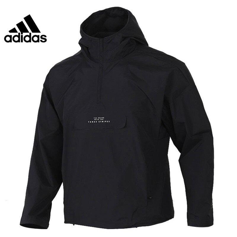 Original New Arrival  Adidas M TEC ANORAK Men's  jacket Hooded  Sportswear