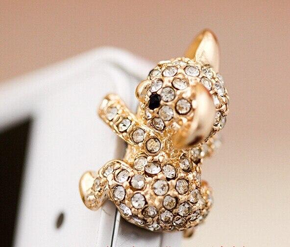 Модные Стиль милый коала дизайн Мобильный телефон ушной пинцет-Пылезащитная заглушка для смартфонов милые аксессуары для мобильных телефонов-5